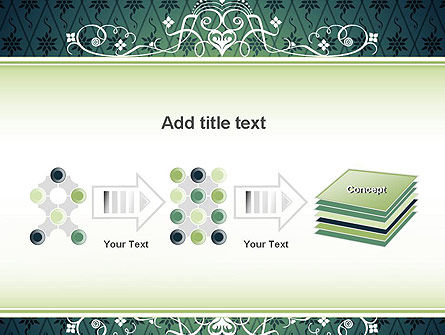 Classic Pattern PowerPoint Template Slide 9