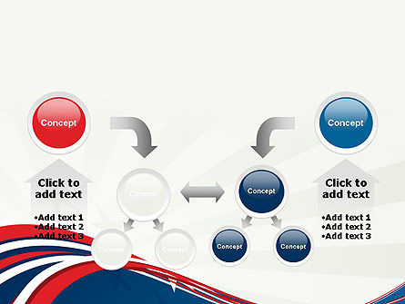 Patriotic Themed PowerPoint Template Slide 19