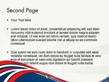 Patriotic Themed PowerPoint Template Slide 2