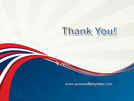 Patriotic Themed PowerPoint Template Slide 20