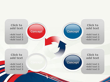Patriotic Themed PowerPoint Template Slide 9