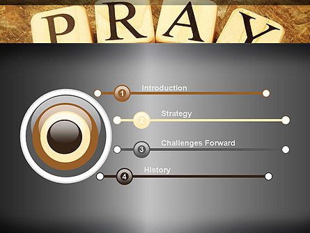 Time to Pray PowerPoint Template, Slide 3, 11984, Religious/Spiritual — PoweredTemplate.com