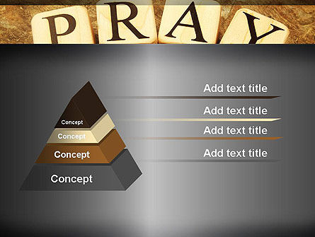 Time to Pray PowerPoint Template, Slide 4, 11984, Religious/Spiritual — PoweredTemplate.com