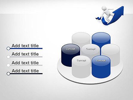 Surfing On Arrow Of Success PowerPoint Template Slide 12