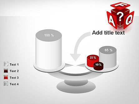 FAQ Cube PowerPoint Template Slide 10