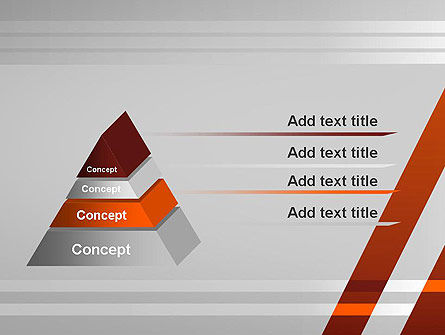 Neat Orange-Gray PowerPoint Template Slide 12
