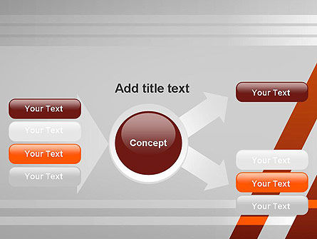 Neat Orange-Gray PowerPoint Template Slide 14