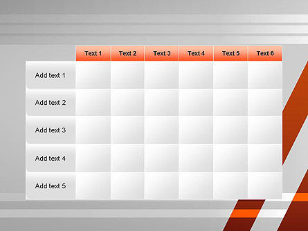 Neat Orange-Gray PowerPoint Template Slide 15