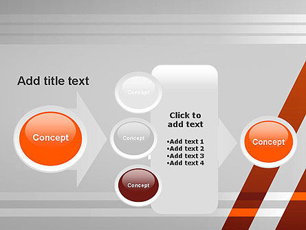Neat Orange-Gray PowerPoint Template Slide 17