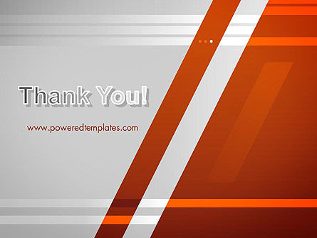 Neat Orange-Gray PowerPoint Template Slide 20