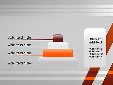 Neat Orange-Gray PowerPoint Template Slide 8