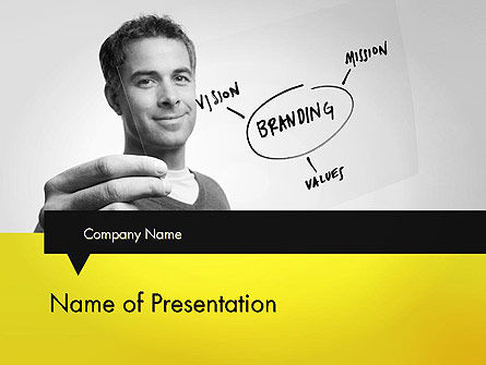 Careers/Industry: Branding PowerPoint Template #11991