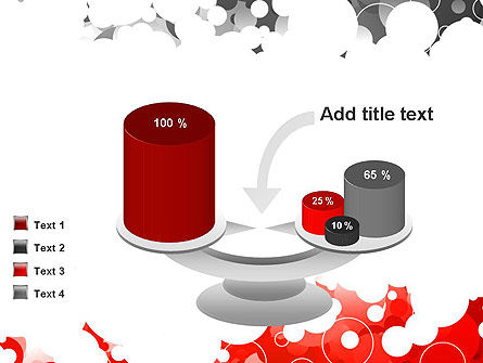 Gray and Red Rings PowerPoint Template Slide 10