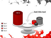 Gray and Red Rings PowerPoint Template#10