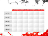 Gray and Red Rings PowerPoint Template#15