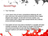 Gray and Red Rings PowerPoint Template#2