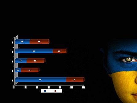 Flag of Ukraine PowerPoint Template Slide 11