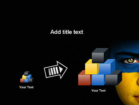 Flag of Ukraine PowerPoint Template Slide 13