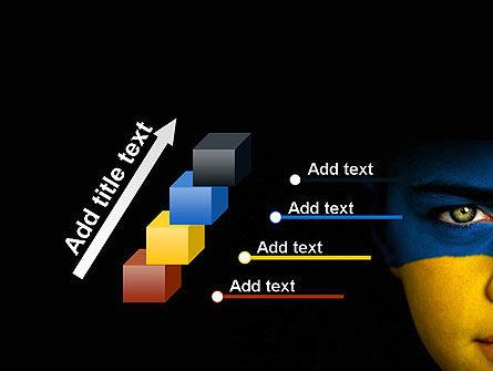 Flag of Ukraine PowerPoint Template Slide 14