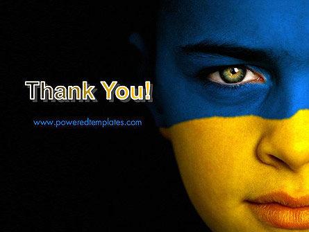 Flag of Ukraine PowerPoint Template Slide 20