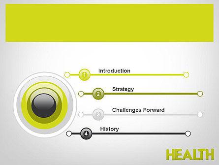 Word HEALTH PowerPoint Template, Slide 3, 11995, Medical — PoweredTemplate.com