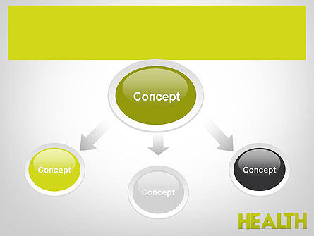 Word HEALTH PowerPoint Template, Slide 4, 11995, Medical — PoweredTemplate.com