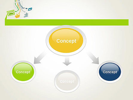 Online Technologies PowerPoint Template, Slide 4, 11997, Technology and Science — PoweredTemplate.com