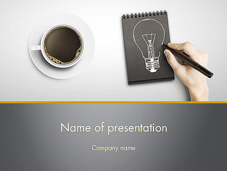 Coffee and Productivity PowerPoint Template