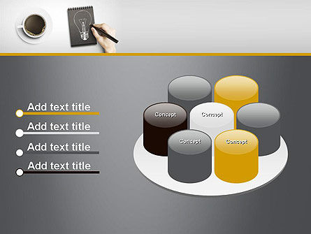 Coffee and Productivity PowerPoint Template Slide 12