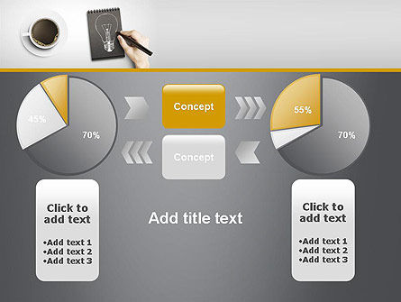 Coffee and Productivity PowerPoint Template Slide 16