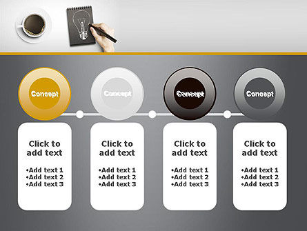 Coffee and Productivity PowerPoint Template Slide 5