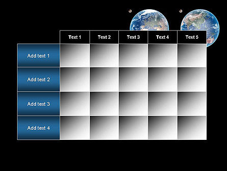 Earth and Moon PowerPoint Template Slide 15