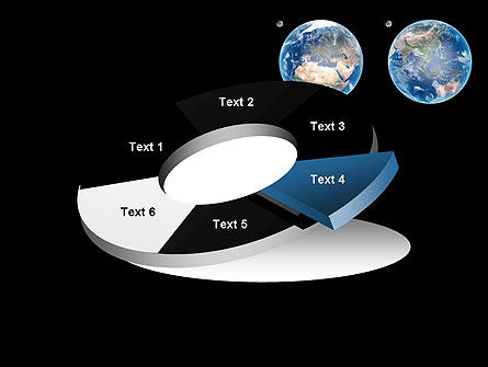 Earth and Moon PowerPoint Template Slide 19