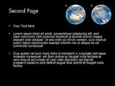 Earth and Moon PowerPoint Template#2