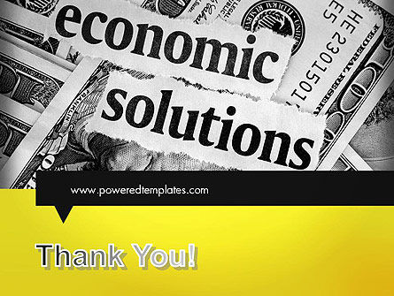 Economic Solutions PowerPoint Template Slide 20