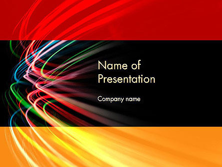 Scientific Abstract PowerPoint Template