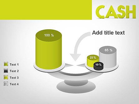 Word CASH PowerPoint Template Slide 10