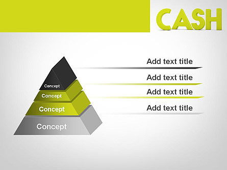 Word CASH PowerPoint Template Slide 12