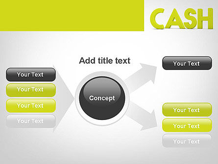 Word CASH PowerPoint Template Slide 14