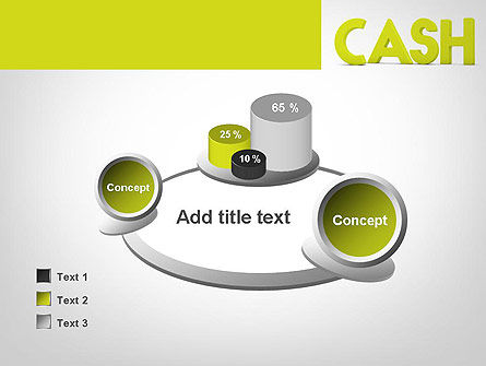 Word CASH PowerPoint Template Slide 16