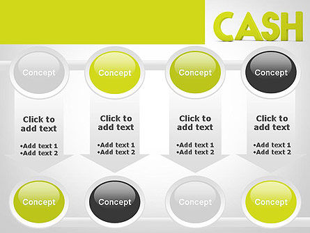 Word CASH PowerPoint Template Slide 18