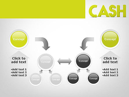 Word CASH PowerPoint Template Slide 19