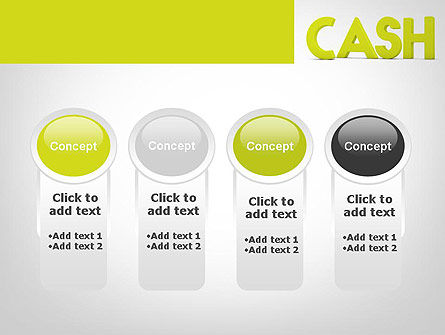 Word CASH PowerPoint Template Slide 5