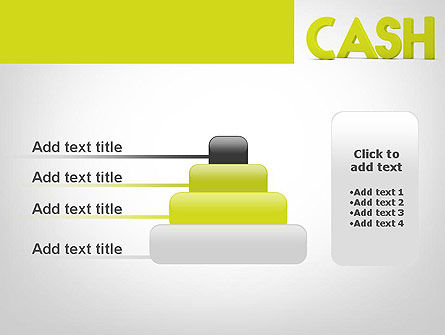 Word CASH PowerPoint Template Slide 8