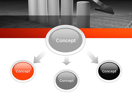 Melting Profits PowerPoint Template, Slide 4, 12010, Financial/Accounting — PoweredTemplate.com
