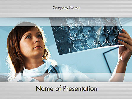 Medical: MRT PowerPoint Template #12012