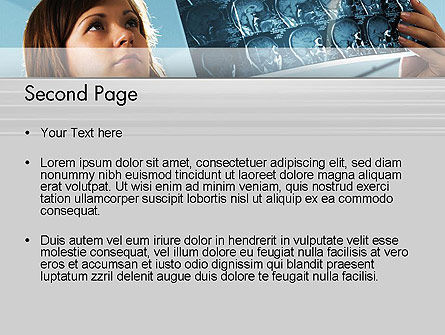 MRT PowerPoint Template, Slide 2, 12012, Medical — PoweredTemplate.com