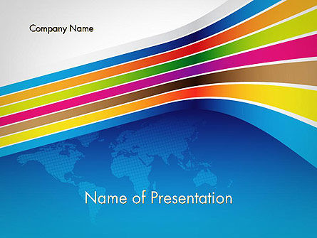Global: Colorful World PowerPoint Template #12013