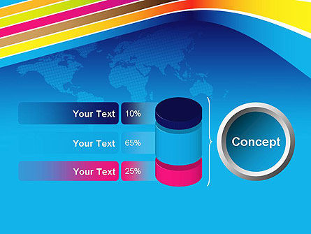 Colorful World PowerPoint Template Slide 11