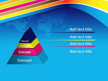 Colorful World PowerPoint Template Slide 12